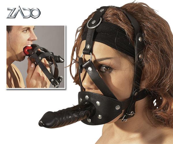 Kožená maska - 2020050