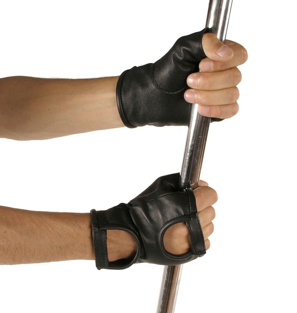 Kožené rukavice krátké - le5551