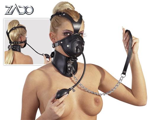 Kožená maska - 2020122