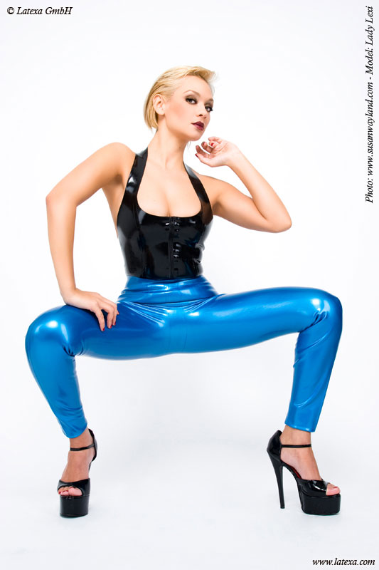 Latexový top - la3093