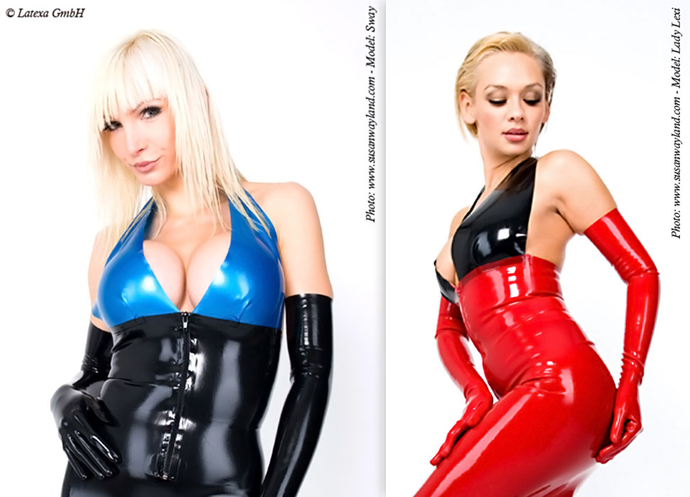 Latexový top - la3160