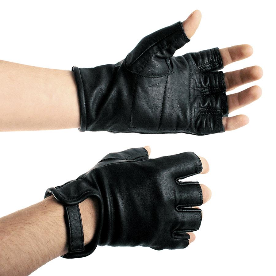 Kožené rukavice krátké - le0967