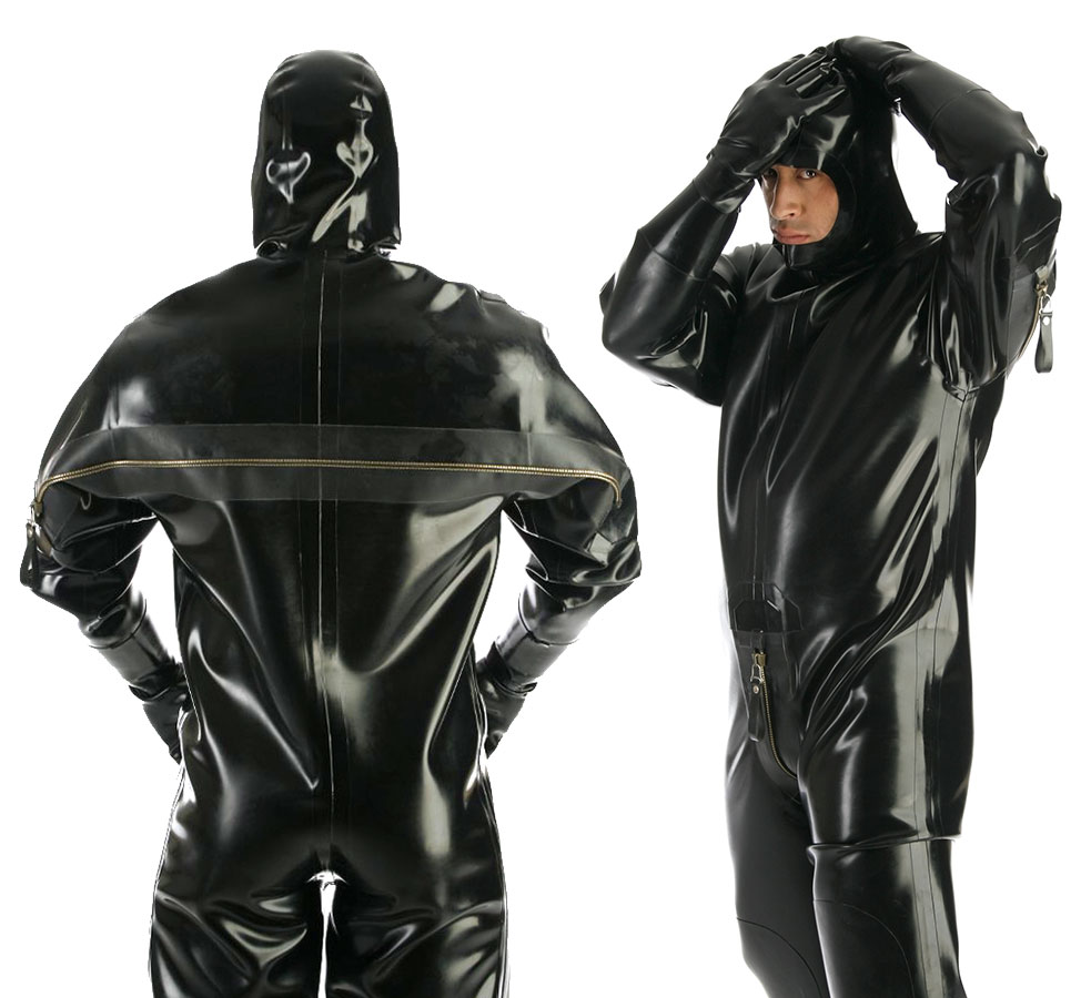 "Latexový catsuit ""Heavy Rubber"" - bs26014 (1.20 mm)"