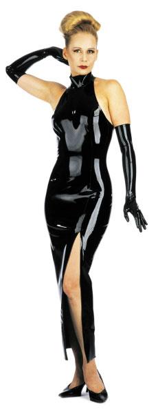 Latexové šaty - bs01018