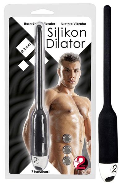 Dilatátor vibrační (11 x 0.8 cm - ČERNÝ) - 0579696