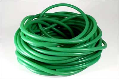 Latexová hadice (9 mm, zelená) - bs48034