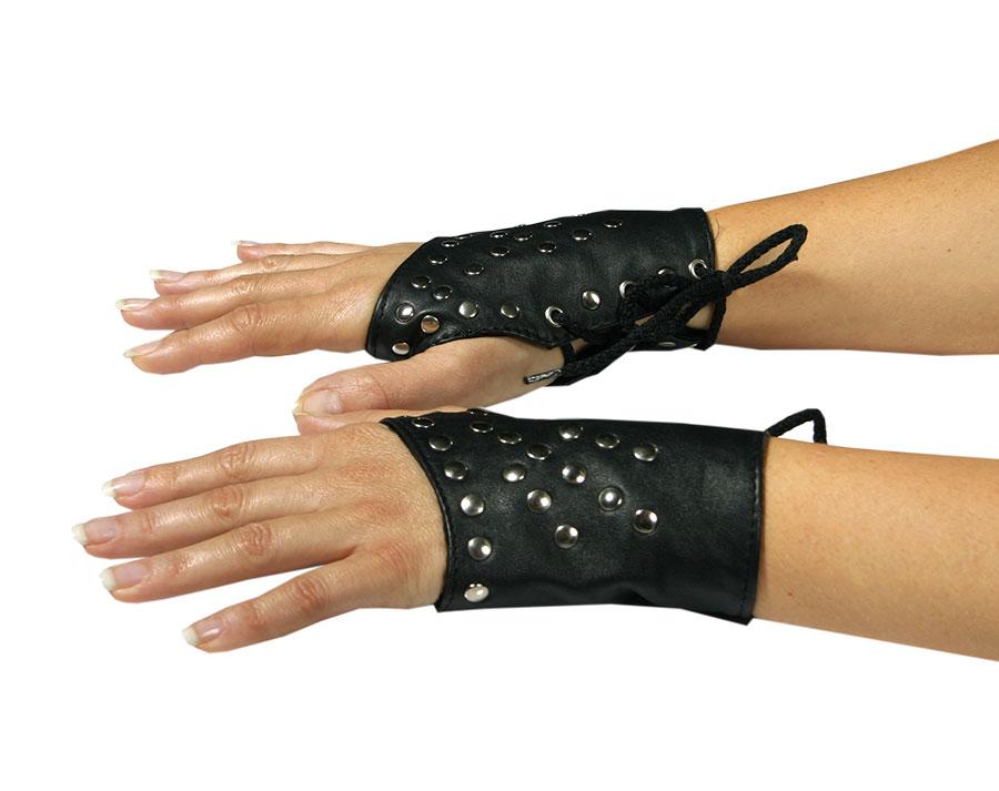 Kožené rukavice krátké - le0102