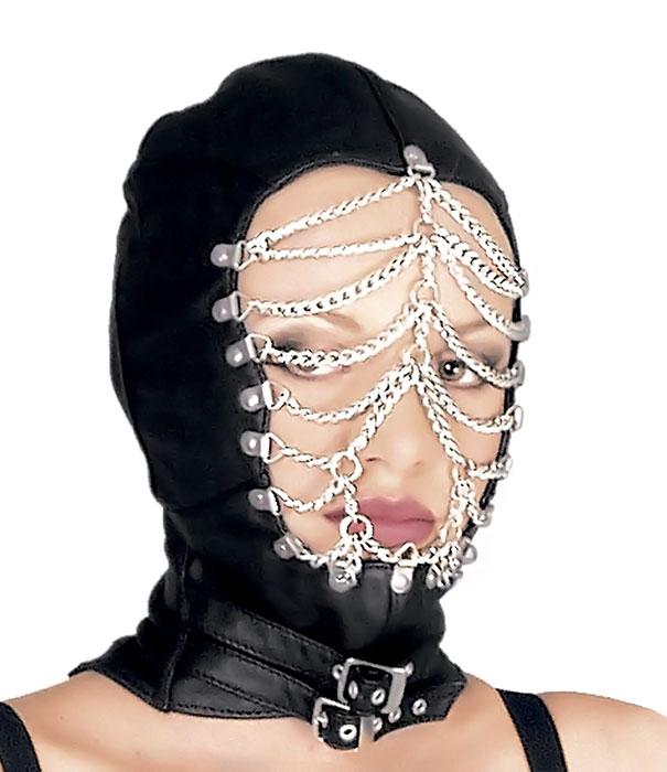Kožená maska - le5026
