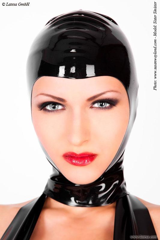 Latexová maska - la1128