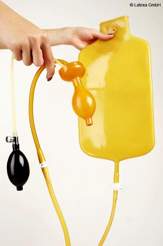 Latexový vak pro klystýr (4 L) - la3150
