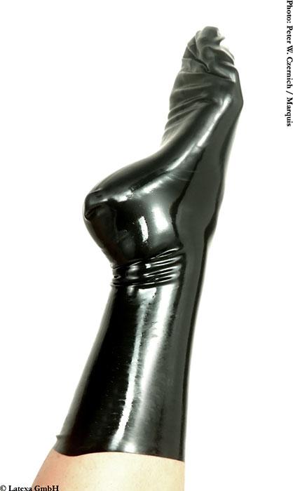 Latexové ponožky - la1163