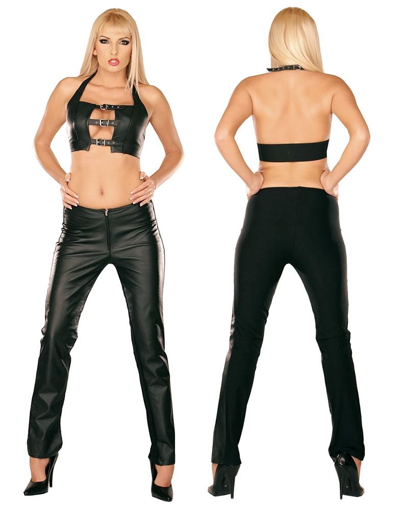 Kožené kalhoty - le0940
