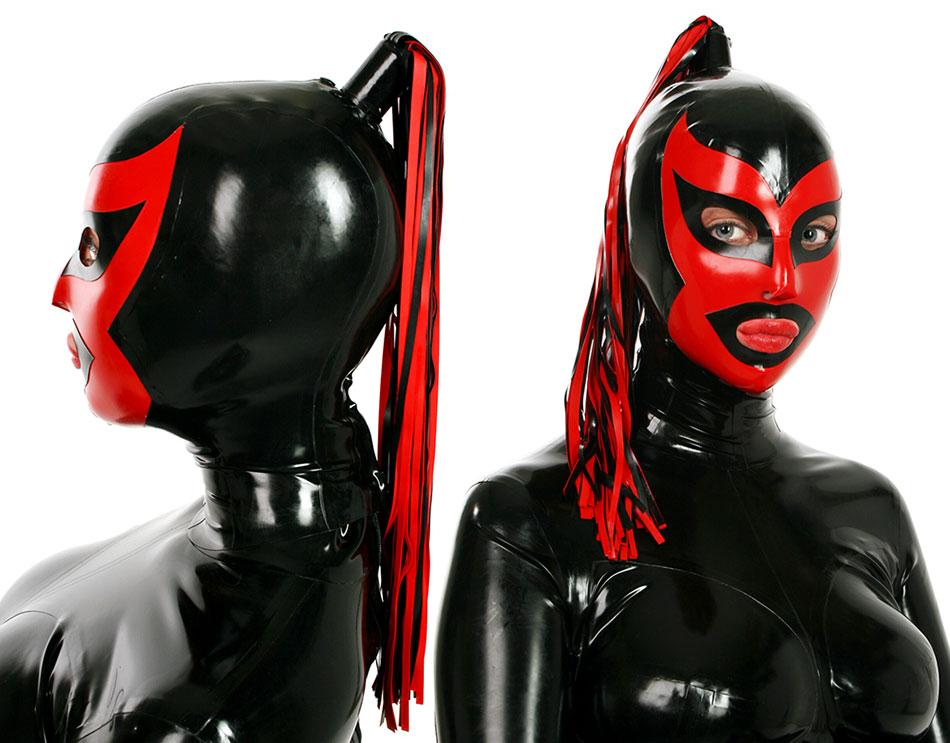 Latexová maska - bs40006