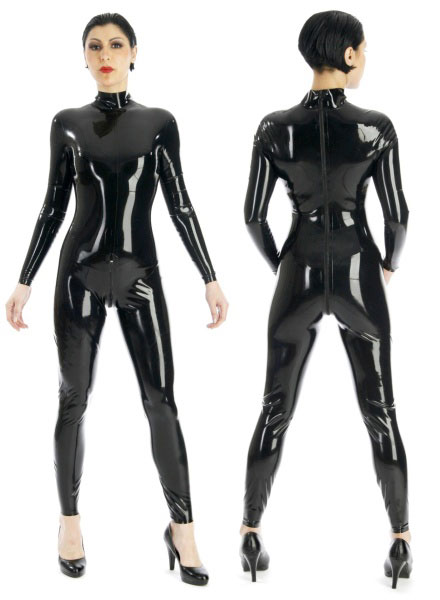 Latexový catsuit - bs07005 (0.60 mm)