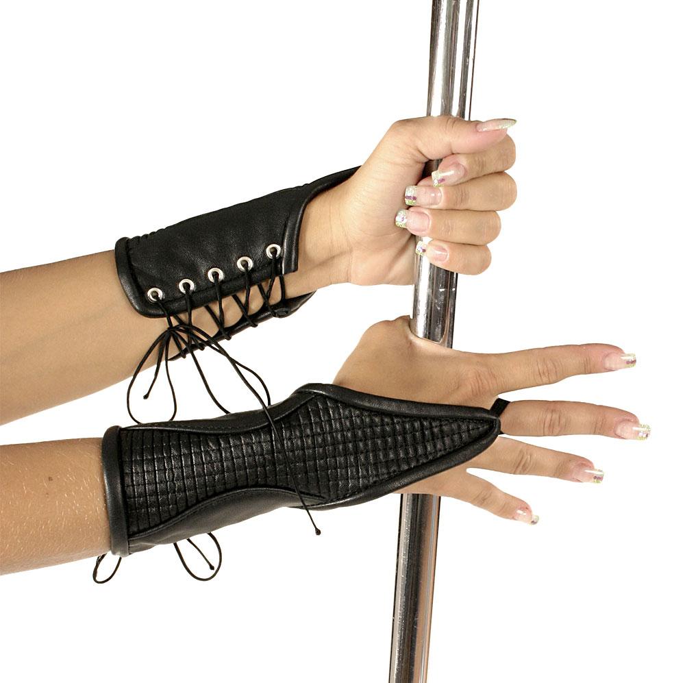 Kožené rukavice krátké - le5523