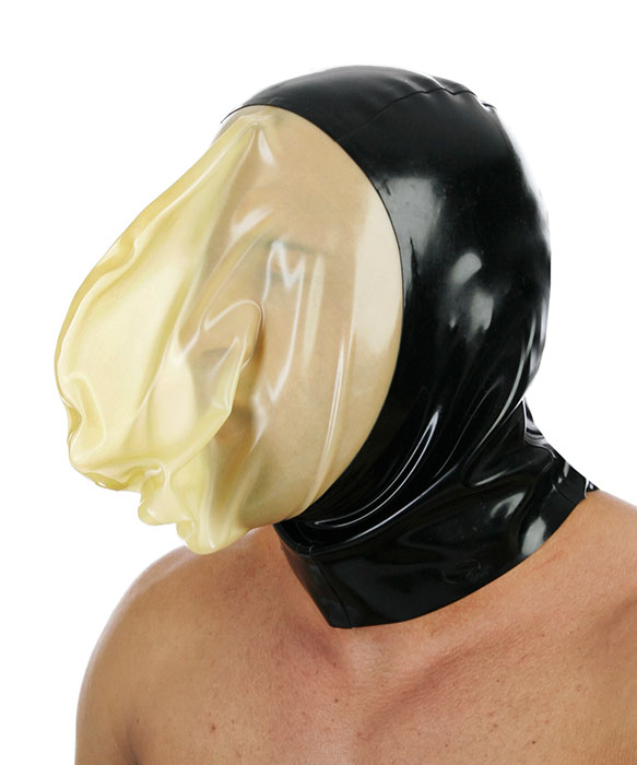 """Latexová maska """"Vakuum"""" - bs40029"""