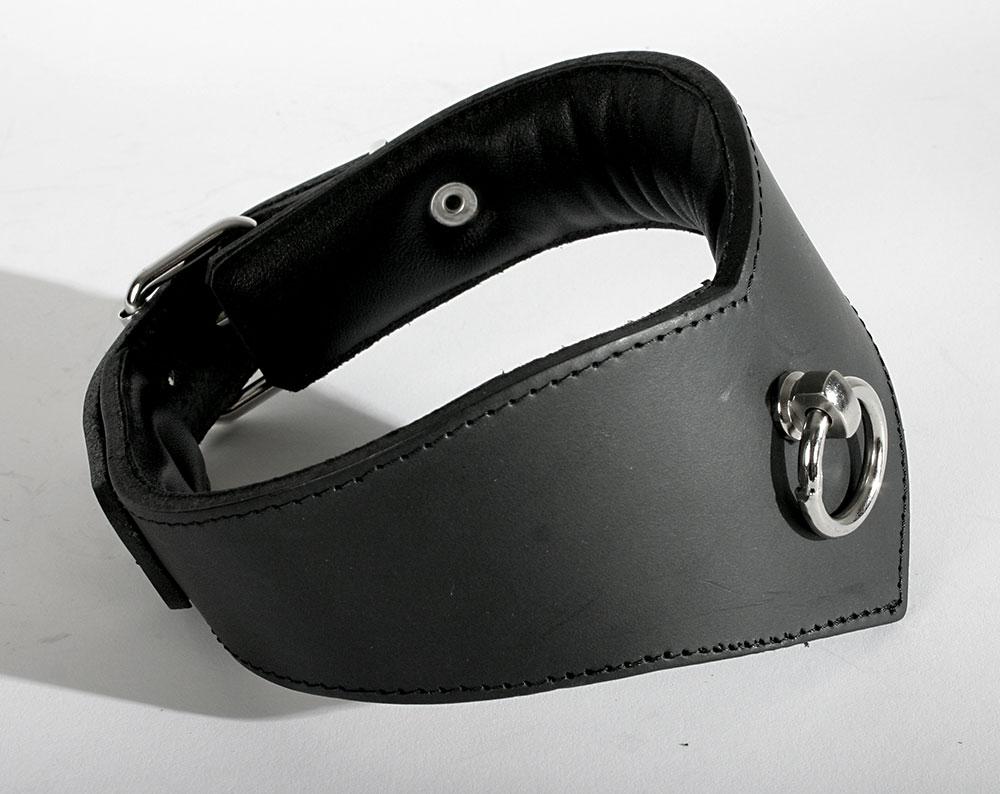 Kožený obojek - le8020