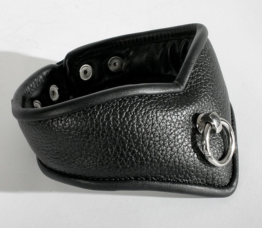 Kožený obojek - le8011