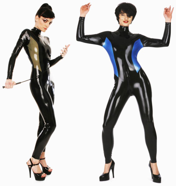 Latexový catsuit - bs07006