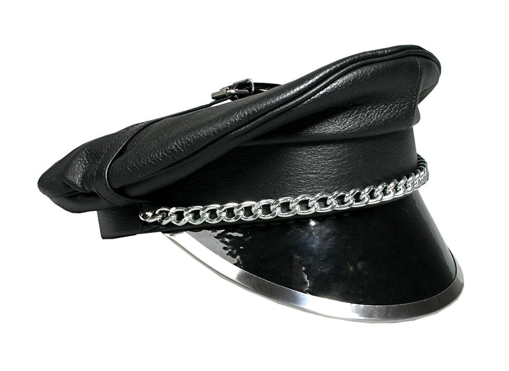 Kožená čepice - le5550